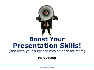 Boost Your Presentation Skills (2013)