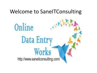 Online Data Entry Services Providers in Noida