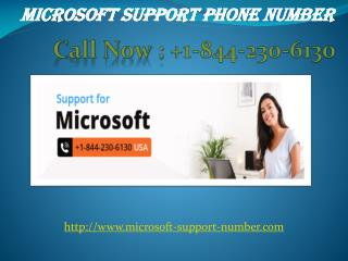 Outlook support number  |  1-844-230-6130