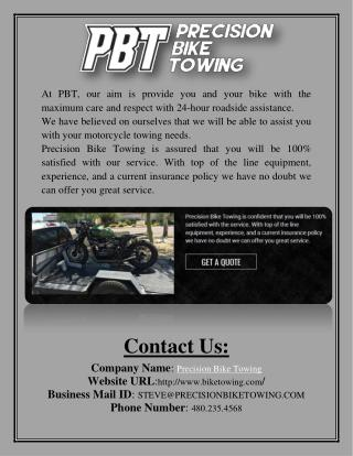 Motorcycle Towing Services - Biketowing.com