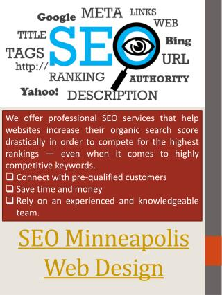 Minneapolis Search Engine Optimization