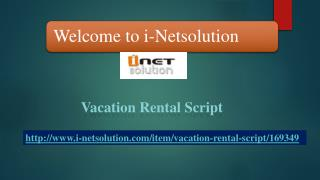 Vacation Rental Script(i-Netsolution)