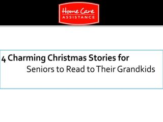 4 Charming Christmas Stories for Seniors to Read to Their Grandkids