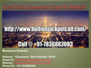 Free Trial Commodity Tips On Mobile
