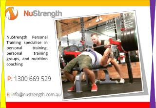 Personal Trainers Brisbane Queensland