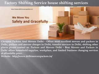 International Relocation Services local packers and movers Delhi