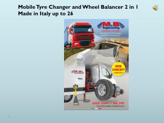 Bulletpro tyre changer