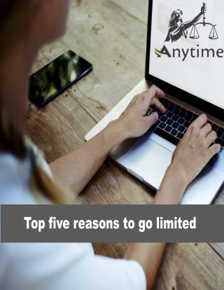 Top five reasons to go limited