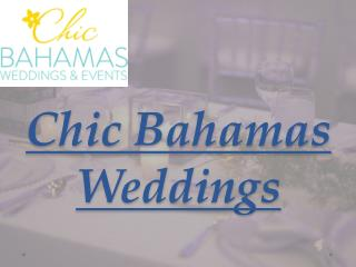 Chic bahamas weddings - Bahamas Beach Wedding