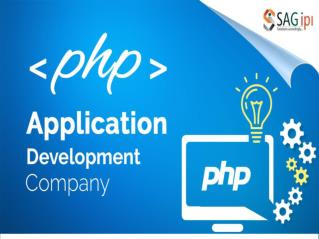 Best PHP Development Company India - SAGIPL
