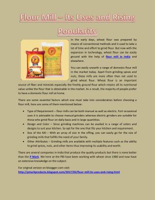 Get High quality Chakki Atta with the Help of Chakki Atta suppliers in Jammu and Kashmir