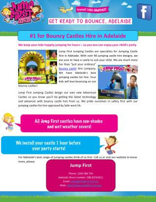 Bouncy Castles Hire in Adelaide