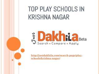Best Play School in Krishna Nagar