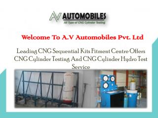 CNG Cylinder Hydro Testing Service In Delhi