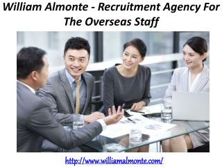 William Almonte - Recruitment Agency For The Overseas Staff
