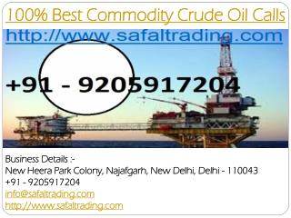 100% Best Commodity Crude Oil Calls