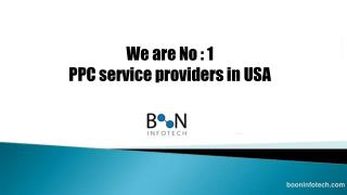 PPC service providers in USA