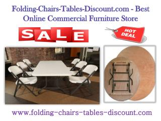 Folding-Chairs-Tables-Discount.com - Best Online Commercial Furniture Store