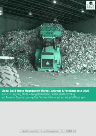 Global Solid Waste Management Market Research Report 2016
