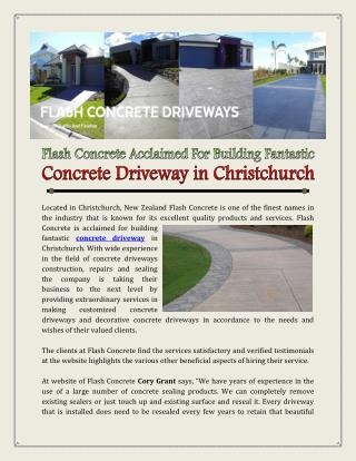 Ppt Concrete Driveway Point Presentation Free