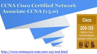 Cisco 200-125 Actual Exam Question Answers