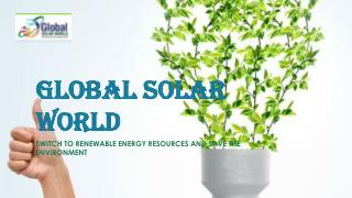Best solar system australia | Global Solar World