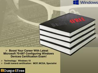 Boost Your Career With Latest Microsoft 70-697 Exam!