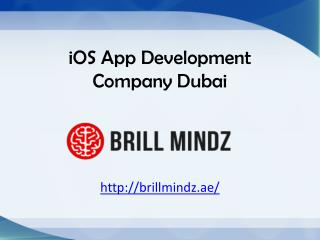 ios application development Dubai