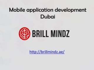 Mobile apps development companies Dubai