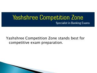 Best Banking Classes in Nagpur | yczbankexams | Yashshree