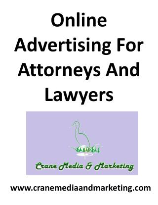 Pay Per Click For Attorneys And Lawyers
