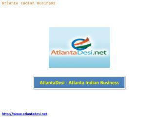 AtlantaDesi - Atlanta Indian Business