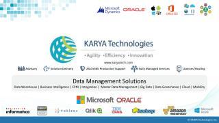 KARYA's Affordable Data Management Solutions