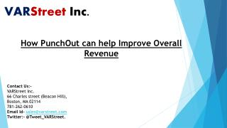 How PunchOut can help Improve Overall Revenue