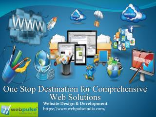Web Design Company Delhi – Web Pulse Solution