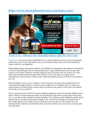Why TestX Core is really a good testosterone enhancer ?