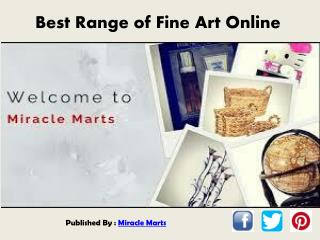 Best Range of Fine Art Online
