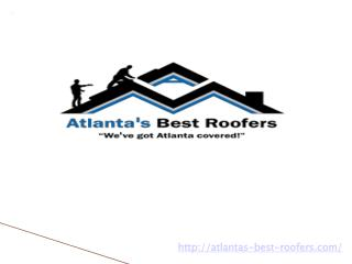 Looking For Roof Installation Services in Atlanta
