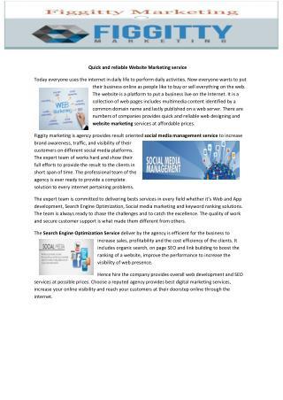 ecommerce web design service