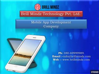 Mobile App Development Services Providers In India