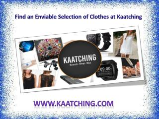 Find an Enviable Selection of Clothes at Kaatching