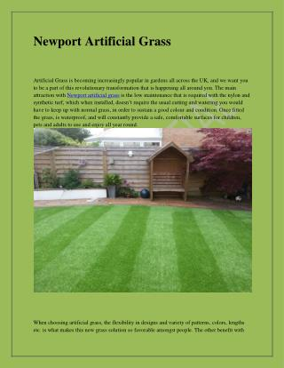 Newport Artificial Grass