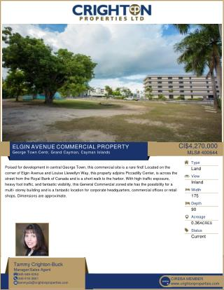 Elgin Avenue Commercial Property in Cayman by Crighton Properties