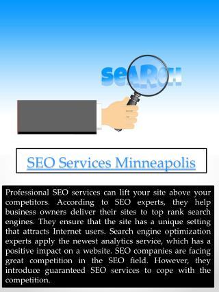 SEO Services Minnesota