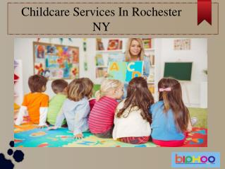 Childcare Services in Rochester NY
