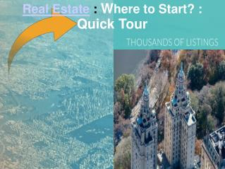 Real Estate: Buying or Renting: Take a Quick Tour