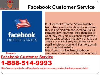 How to make contact with Facebook Customer Service team?1-888-514-9993
