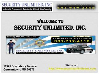 Special event security DC