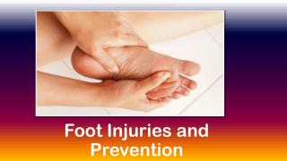 Foot Injuries and Prevention