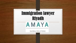 Immigration lawyer riyadh
